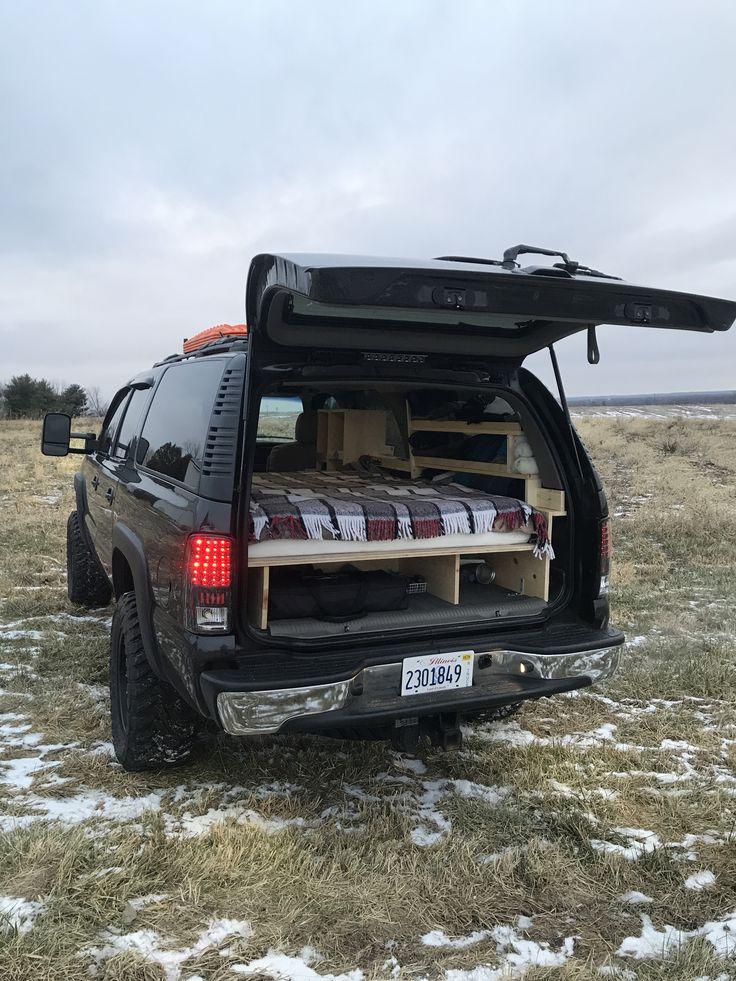 Range Rover Truck >> My camper converted 2500 suburban | Suv camper, Truck bed camper, Pickup camping