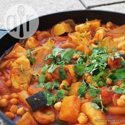 Hähnchen Tajine aus dem Slow Cooker @ de.allrecipes.com