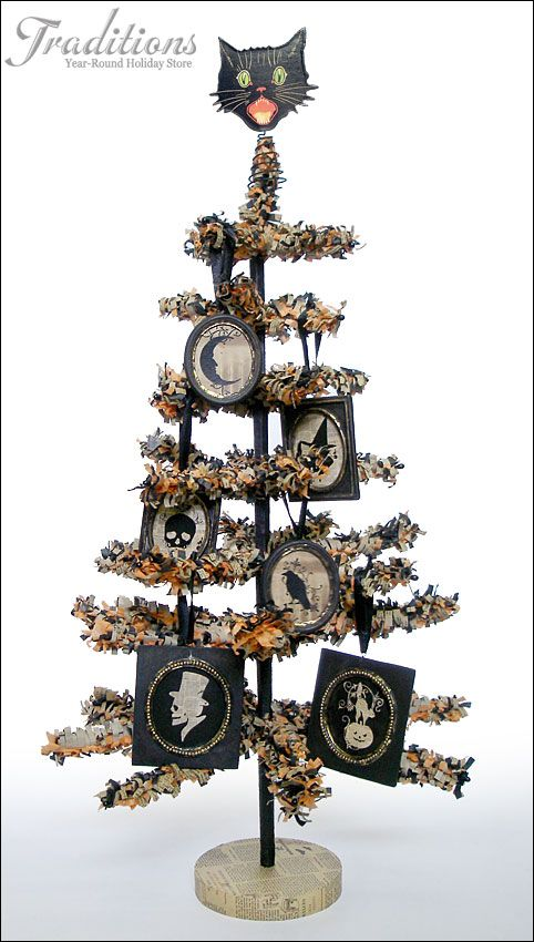 halloween ornaments glass vintage and reproduction