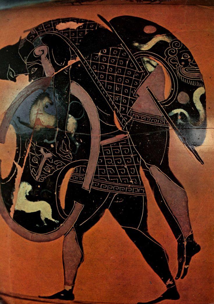 Ajax portant le corps d'Achille