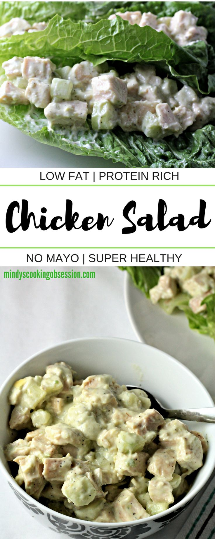 Super Healthy Chicken Salad