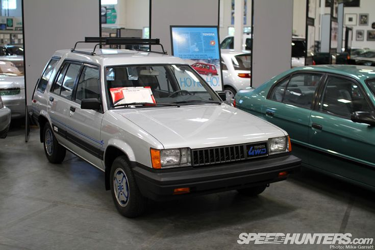 1983 Toyota Tercel 4×4 wagon! Can't believe my car once had a 4x4 model!! :O