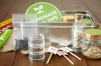 Make a Seed Storing Kit: Baby Food Jars, Grand Ideas, Diy Seeds Organizations, Seeds Tape, Simple Seeds, Homemadesimple Com, Reuse Jars, Homemadesimpl Com, Free Printable
