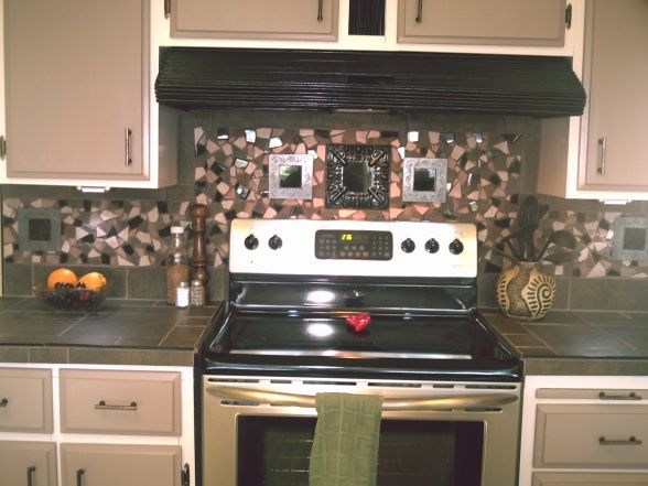 Budget Kitchen Makeover 1984 Mobile Home Didnt Want To Spend Much Did