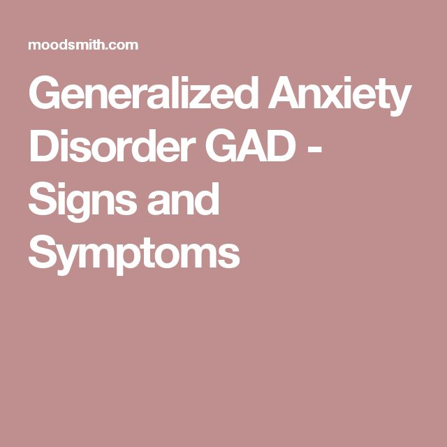 child generalized anxiety disorder case study Generalized anxiety disorder (gad) is a common condition genes may play a role stress may also contribute to the development of gad anyone can develop this disorder, even kids.