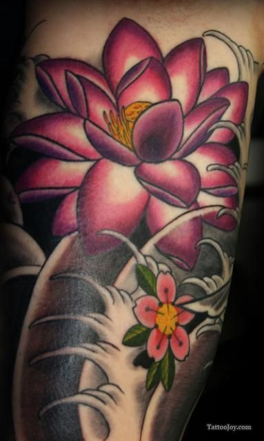 25 best ideas about pink flower tattoos on pinterest pink tattoos blue orchid tattoo and. Black Bedroom Furniture Sets. Home Design Ideas