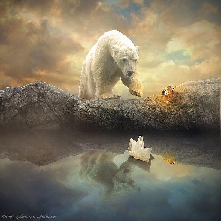 картинки белых медведей фэнтези временна