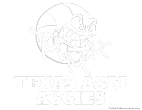 181 best college basketball coloring pages images on for Aggie coloring pages