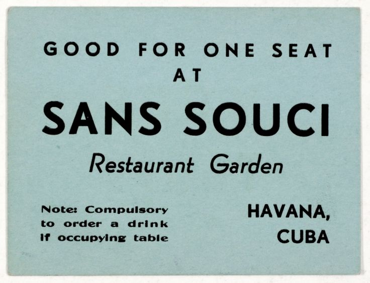 Havana, Cuba - I wonder if this ticket is still valid. hahahaha