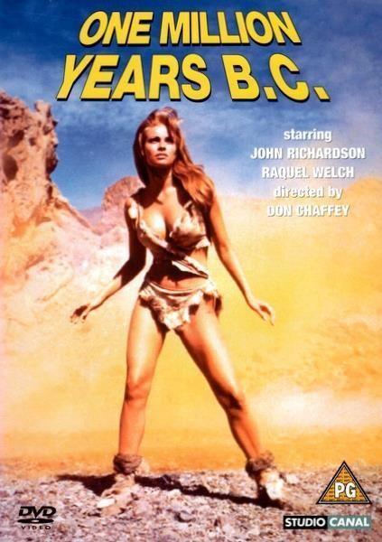 One Million Years BC (DVD / Raquel Welch / Hammer 1966)