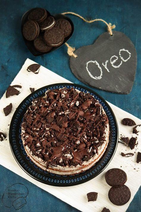 Kleiner Oreo Cake Aus Der 20 Cm Springform Der Kuchen Besteht Aus