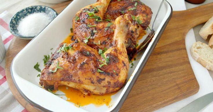 Pollo con salsa piri piri, y olvídate de todo - Recetas Fáciles Reunidas