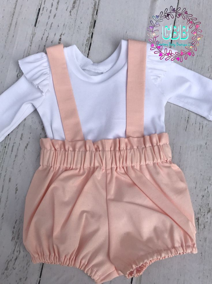 Baby girl Easter outfit , baby  easter set , easter dress , Baby outfit , baby girl romper set , baby bloomers by CreationsBabyB on Etsy https://www.etsy.com/listing/570029862/baby-girl-easter-outfit-baby-easter-set