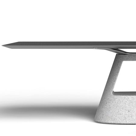 By Konstantin Grcic   # concrete Table furniture aluminum