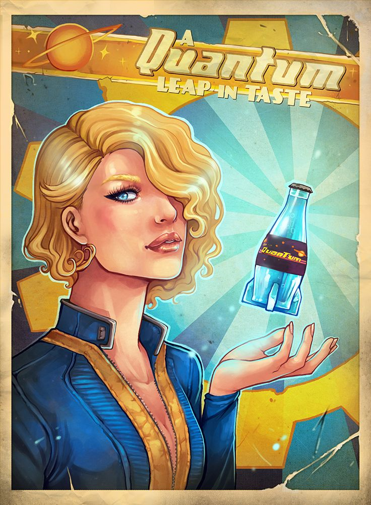 The Vault - Fallout Wiki • avionetca: I wanted draw my own Fallout poster...