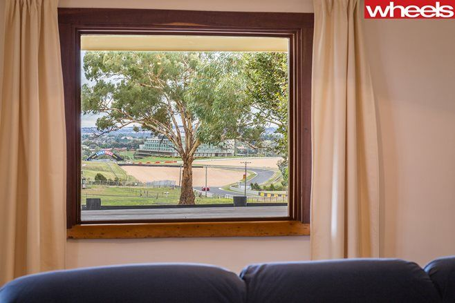 Room with a view. Australia's hottest motorsport home