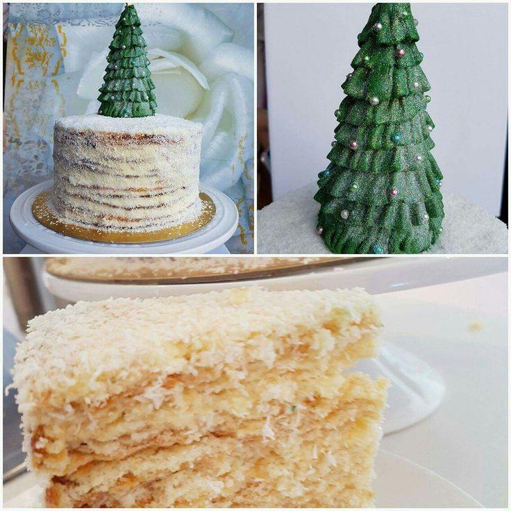Cristmas tree cake 15 layers
