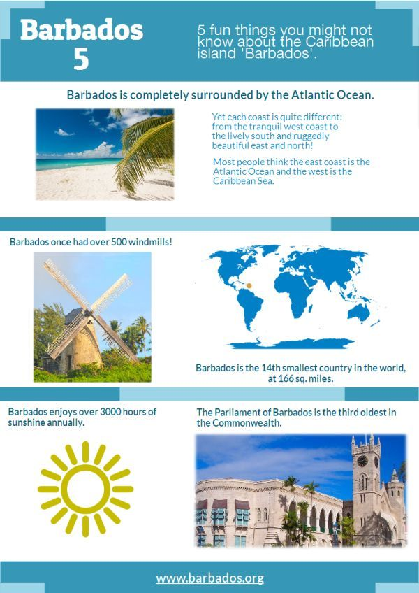 5 fun things to know about #Barbados!