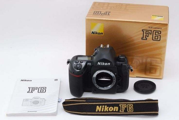【EXC+++++】 NIKON F6 35mm SLR Film Camera Body Only With Box&Strap From Japan #Nikon