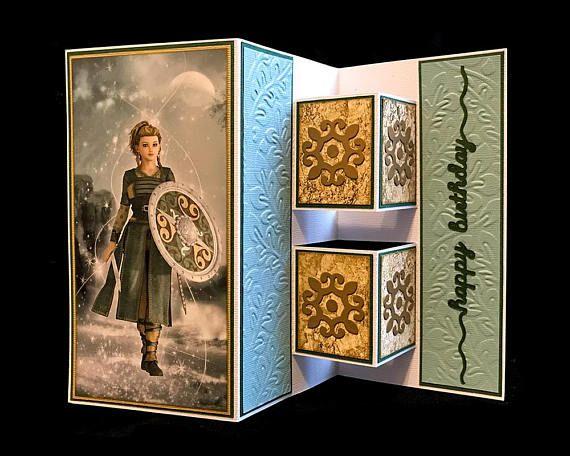 Handmade Viking Shield Maiden Lagertha Aslaug Siggy Astrid Birthday