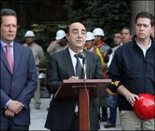 El titular de la Procuraduría General de la República, @MurilloKaram  indicó que el gobierno está enfocado en determinar el origen de los hechos que propició la explosión en el edificio B-2 del Centro Administrativo de Petróleos Mexicanos en la Ciudad de México @EPN @razagave