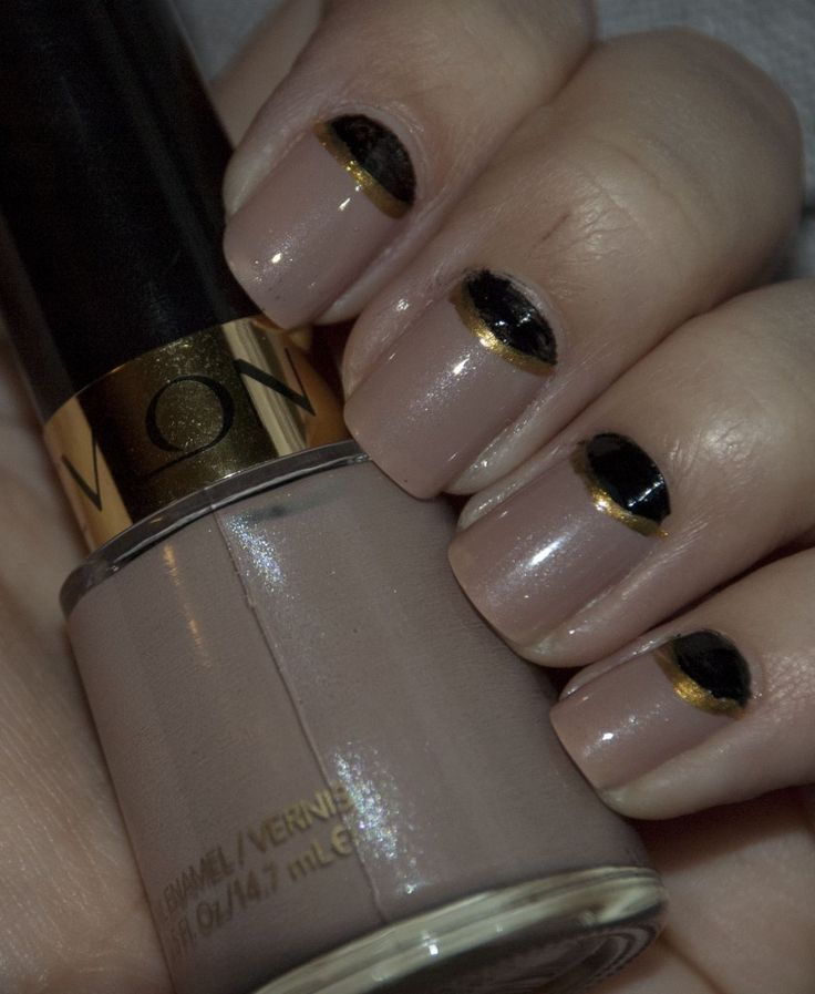 54 best nail polish images on pinterest nail polishes enamels my favorite nude polishrevlons gray suede with gold prinsesfo Gallery