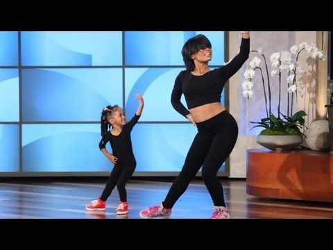 ▶ Three-Year-Old Beyoncé Dancer Is Heaven! - YouTube - what a sweetie and her mom's got great moves!