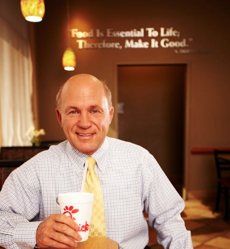 Dan Cathy, President and COO of Chick-fil-A