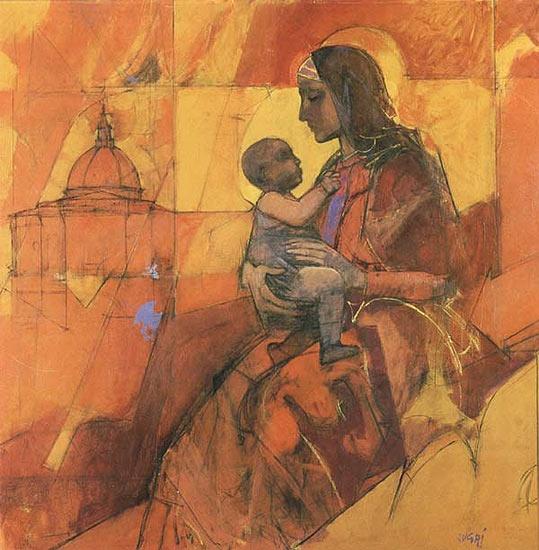 """""""Virgo Laurentana"""" by Alberto Sughi"""
