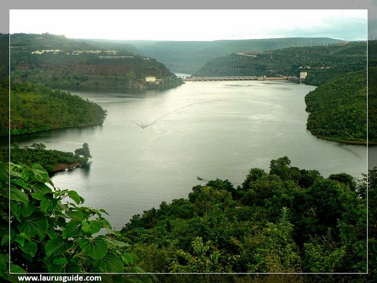 Srisailam Dam is the second largest hydroelectric capacity project in the country. The dam is built on the River Krishna flowing in the Kurnool district of Andhra Pradesh. It is located at a distance of about 150 kilometers from the capital of Hyderabad, surrounded by Nallamala Hills on the south and east sides.