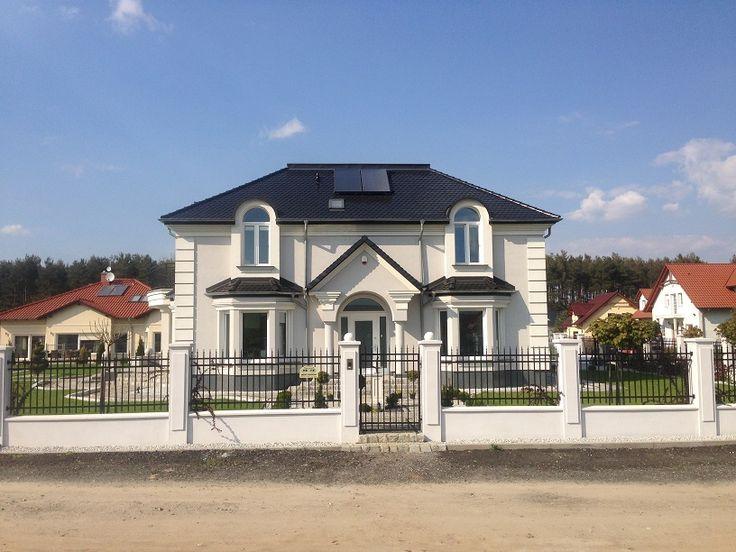 Elewacja frontowa  #dom #projekt #elewacja