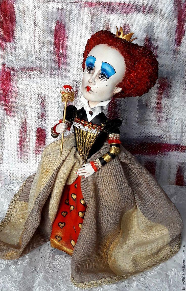 Купить Красная королева 2. - ярко-красный, королева, королевский, корона, красная королева