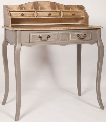 CFS Painted Bureau Desk #Desk #Painted #Assembled #5Drawers Dimensions:W 80cm x D 55cm x H 96cm Material:Wooden Finish:Painted Type:Small Assembly:Assembled No. of Drawers:5 Drawers