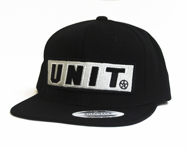 Unit Clothing Creeper Snapback Hat Black  Reg. Price $24.99  Sale Price: $12.00