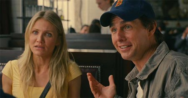 """""""I'm the guy."""" Knight and Day with Tom Cruise and Cameron Diaz."""