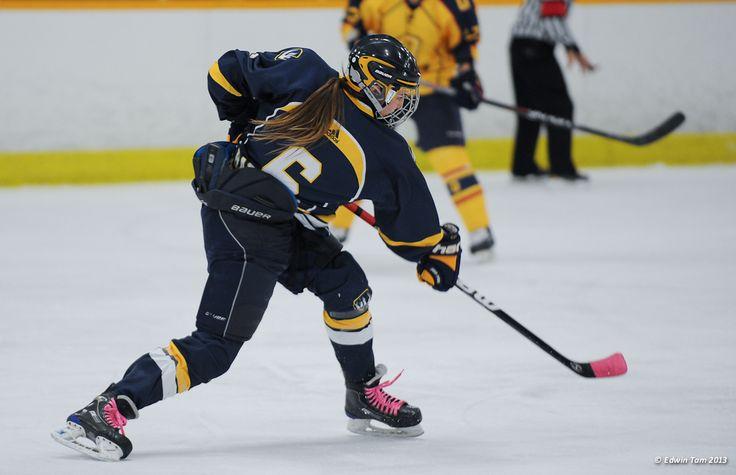 Natalie Barrette, 2012-13 Women's Hockey, Credit: Edwin Tam