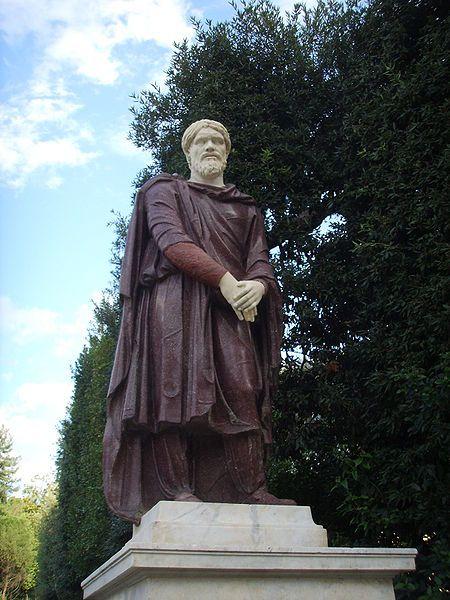 Dac statue in the Borghese Gardens - Rome