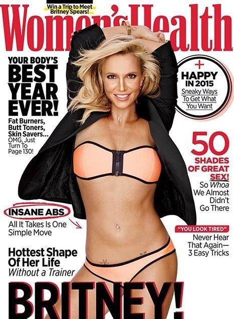"It involves this magazine cover and flawless snapshots of a God damn legend in the HOTTEST SHAPE OF HER LIFE. | Shut Up And Sit Down, Britney Spears Looks Incredible On Her ""Women's Health"" Cover"