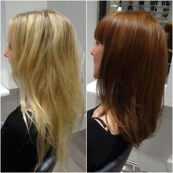 En ny hårfärg och en Olaplexbehandling • Colorista - Colorista