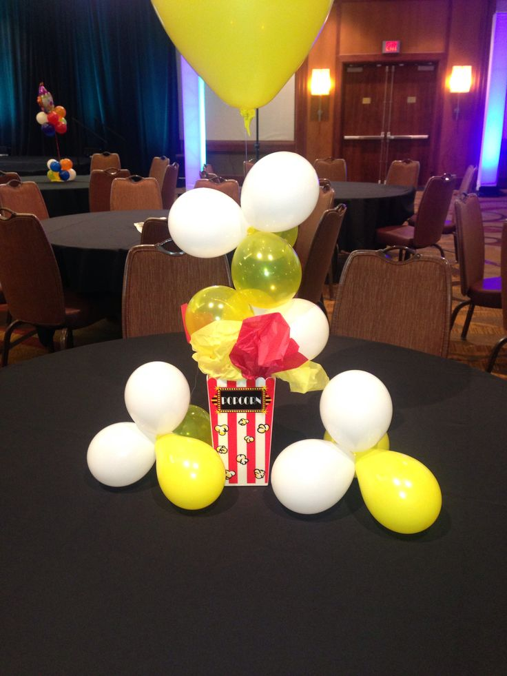 Centerpiece for a networking event. It was a state fair theme enjoyed by all!