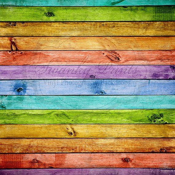 Rainbow Wood - Oz Backdrops and Props