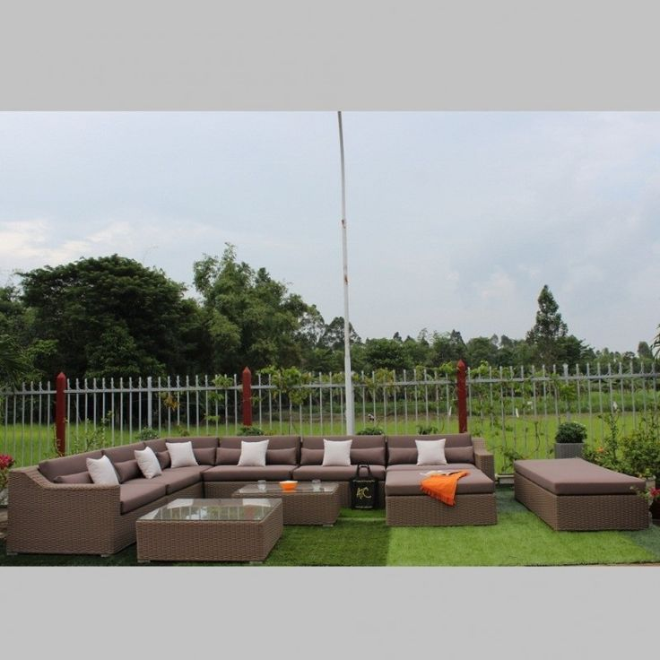 Outdoor Patio Tables and Chair Set Rattan Polyurethane