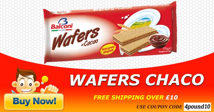 Buy Wafers Chaco at Low Price Only at @4pound.co.uk Buy Now : http://www.4pound.co.uk/wafers-chaco