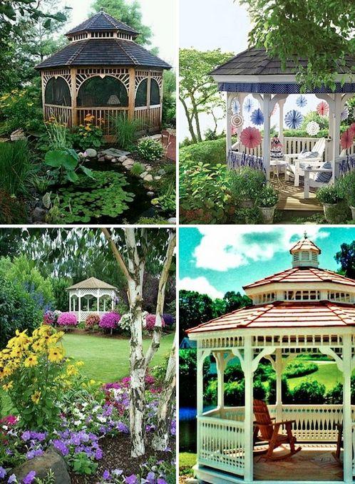 220 Best Gazebo Images On Pinterest Gardens Vinyls And