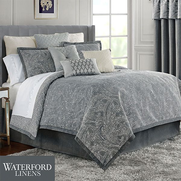 The Soothing Aidan Comforter Bedding From Waterford R Linens Will