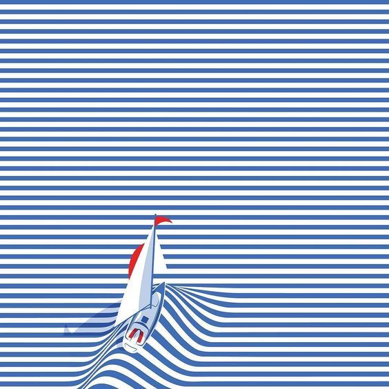 Nautical Stripes Pattern