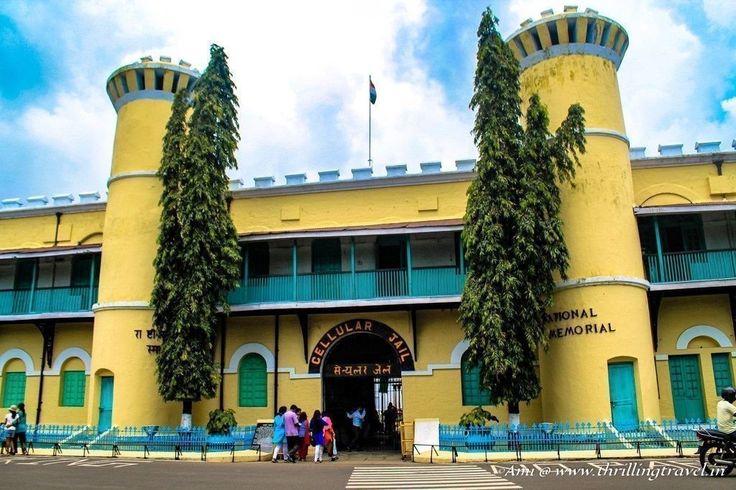 Cellular jail , Port Blair , India.