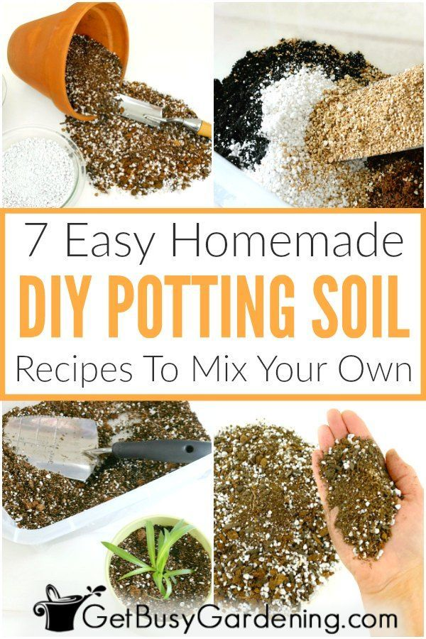 7 Easy Diy Potting Soil Recipes To Mix Your Own In 2020 Soil