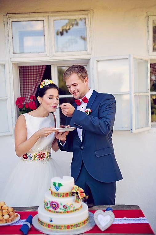 Wedding folk theme  with hundred year old folk belt