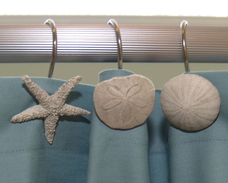 shower shells for a beach themed bathroom or you could turn it into a beach theme bedroom!